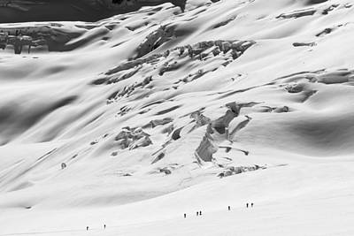 Touring Wall Art - Photograph - Granite Glacier by Ian Stotesbury