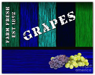 Grape Farm Art Print by Marvin Blaine