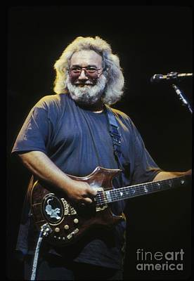 Folk Photograph - Grateful Dead - Uncle Jerry by Concert Photos