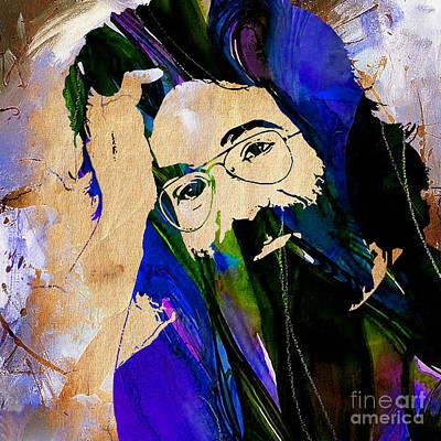 Grateful Dead Jerry Garcia Art Print