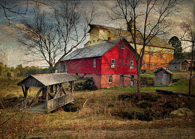 Photograph - Graves Farm by Fred LeBlanc