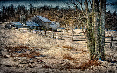 Photograph - Gray Barn by Fred LeBlanc