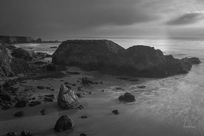 Photograph - Gray Day....   San Simeon by Tim Bryan