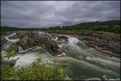 Photograph - Great Falls by Erika Fawcett