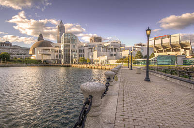 Photograph - Great Lakes Science Center by At Lands End Photography
