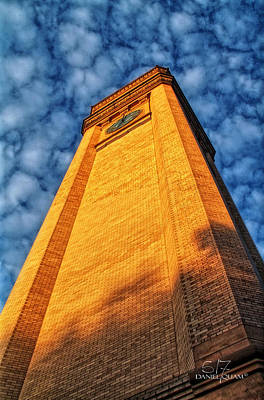 Photograph - Great Northern Clock Tower by Dan Quam