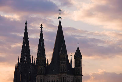 Saint-martin Photograph - Great Saint Martin Church And Cologne by Panoramic Images