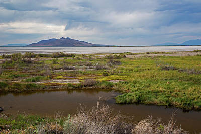 Great Salt Lake Photograph - Great Salt Lake by Jim West