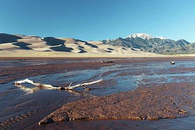 Luis Photograph - Great Sand Dunes National Park by Michael Szoenyi