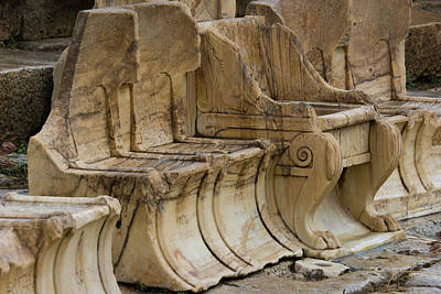 Dionysus Photograph - Greece, Athens, Acropolis by Jaynes Gallery
