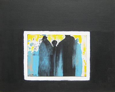 Greek Encounter Original by Suzanne J Blinder