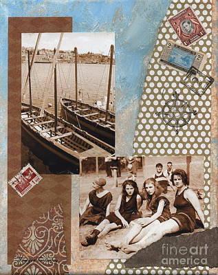 Painting - Greek Isles by Tamyra Crossley