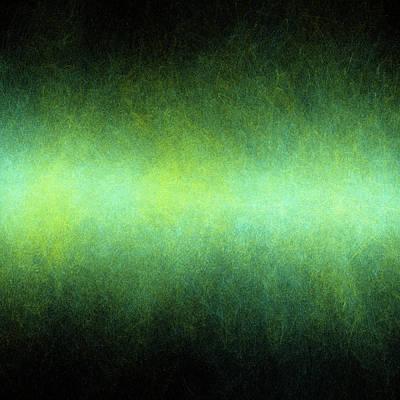 Dark Matter Photograph - Green Abstract Pattern by Mehau Kulyk