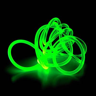 Bright Colours Photograph - Green Coloured Glowing Cable by Science Photo Library