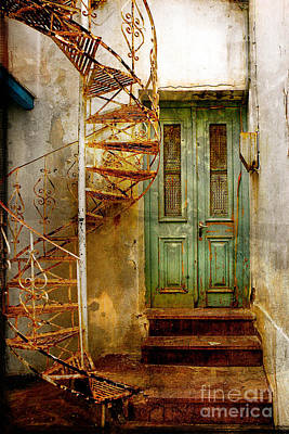 Photograph - Green Door by Stacey Granger
