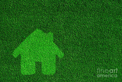 Copy Photograph - Green Eco Friendly House by Michal Bednarek