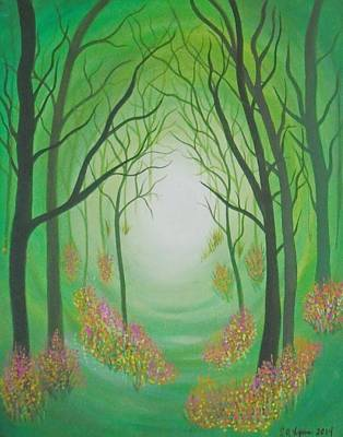 Green Forest  Original