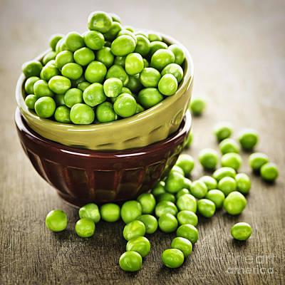 Green Peas Art Print
