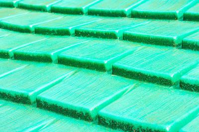 Green Plastic Art Print by Tom Gowanlock
