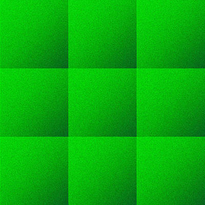 Royalty-Free and Rights-Managed Images - Green Squares Texture Background by Valentino Visentini