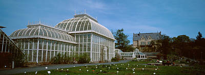 Helsinki Photograph - Greenhouse In A Botanical Garden by Panoramic Images