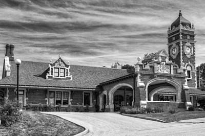 Photograph - Greensburg Train Station by Coby Cooper