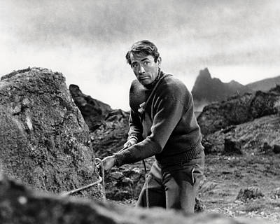 Peck Photograph - Gregory Peck In The Guns Of Navarone  by Silver Screen