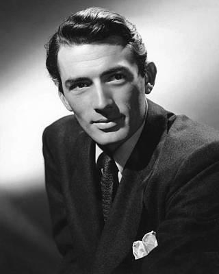 Gregory Photograph - Gregory Peck by Silver Screen
