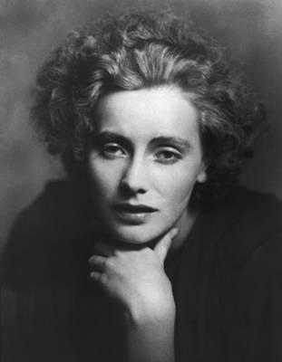 Greta Photograph - Greta Garbo Portrait by Arnold Genthe
