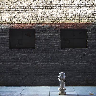 Bricks Photograph - Grey Eyes by Lee Harland