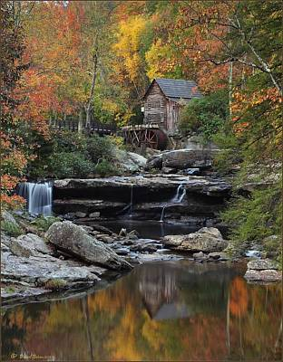 Photograph - Grist Mill by Daniel Behm