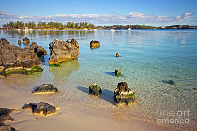 Photograph - Grotto Bay Beach by Charline Xia