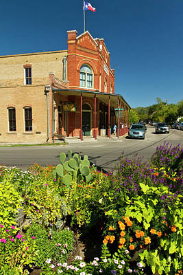 1878 Photograph - Gruene, New Braunfels, Texas Historic by Larry Ditto