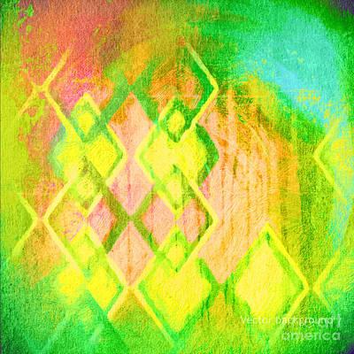 Spot Wall Art - Digital Art - Grunge Retro Vintage Paper Texture by Leksustuss