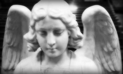 Our Lady Of Mt Carmel Photograph - Guardian Angel by Aurelio Zucco