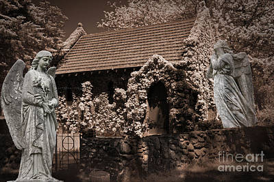 Digital Art - Guarding The Church by Nareeta Martin