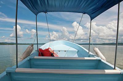 Guatemala, Lake Izabal Print by Michael Defreitas