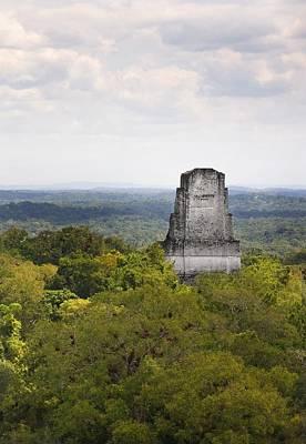 Tikal Photograph - Guatemala. Tikal. Tikal National Park by Everett