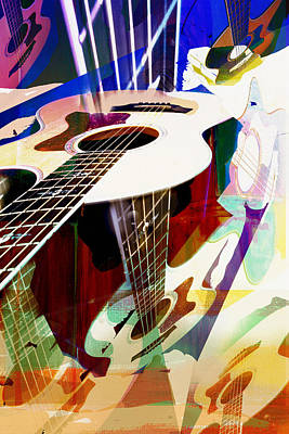 Photograph - Guitar Music by Susan Stone