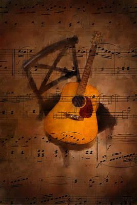 Guitar No.5 Original by Brian Enright