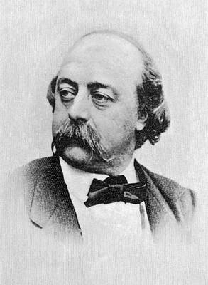 Gustave Flaubert Wall Art - Photograph - Gustave Flaubert (1821-1880) French by Mary Evans Picture Library