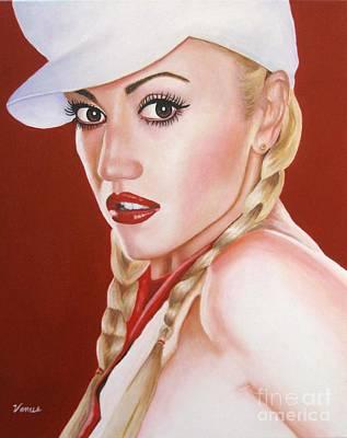Painting - Gwen Stefani  by Venus