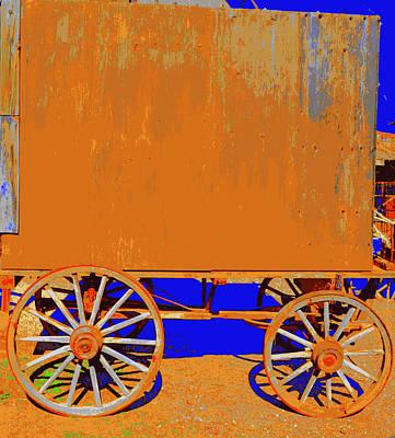 Photograph - Gypsy Caravan by Diane montana Jansson