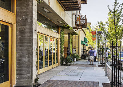 Photograph - H2hotel In Healdsburg California by Karen Stephenson