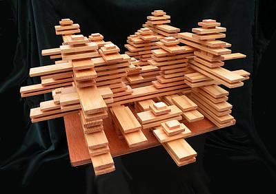 Sculpture - Habitat by Dave Martsolf
