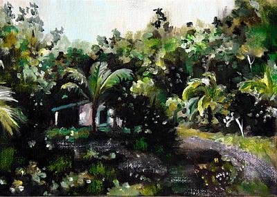 Hacienda Lamberti Art Print by Sarah Lynch