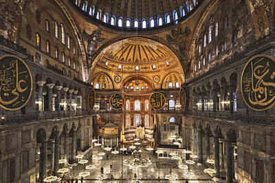 Chris Reed Photograph - Hagia Sophia by Chris Reed