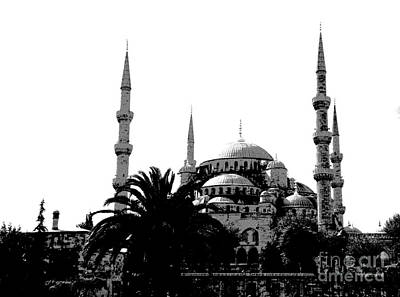 Photograph - Hagia Sophia Museum Istanbul by Jacqueline M Lewis