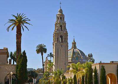 Mosaic Photograph - Balboa Park - The Soul Of San Diego by Christine Till