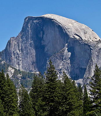Art Print featuring the photograph Half Dome by Brian Williamson